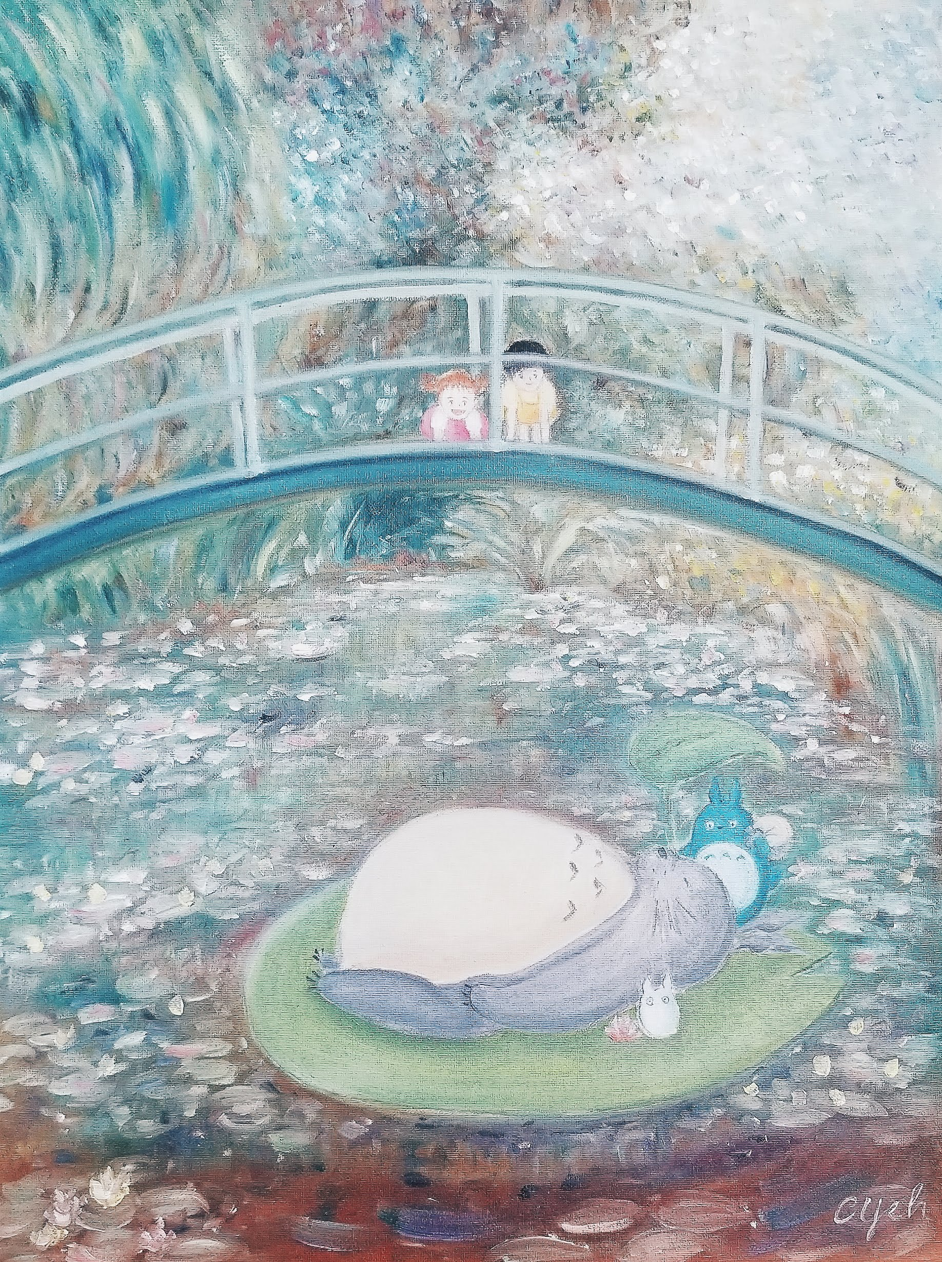 Totoro & the Lily Pond - Studio Ghibli x Monet (2019)